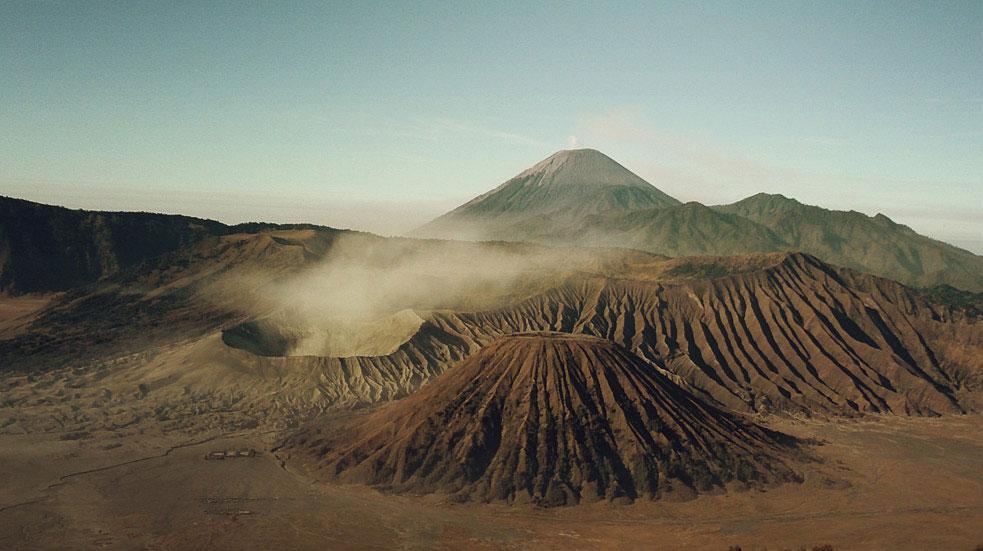 Výstup na sopky v Indonézii