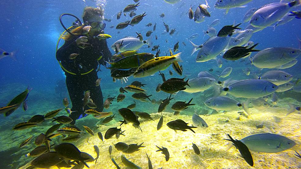 Vodní aktivity na Bali