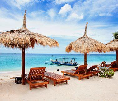 Panenské pláže na ostrovoch Gili