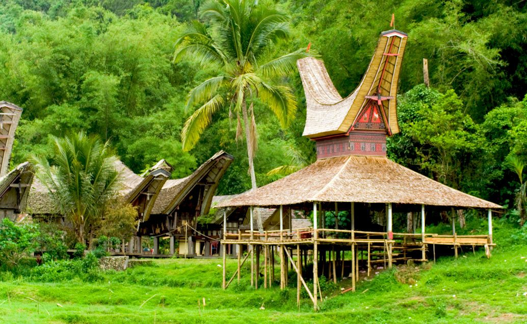 Sulawesi - Tana Toraja a domorodé kmene