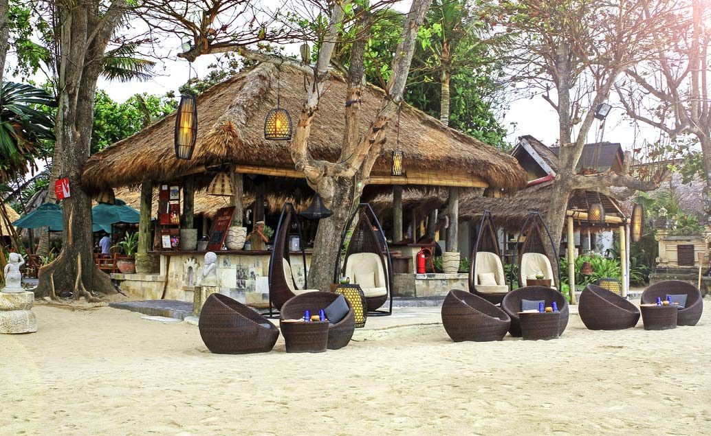Novotel Bali Benoa 5****, pláž Tanjung Benoa
