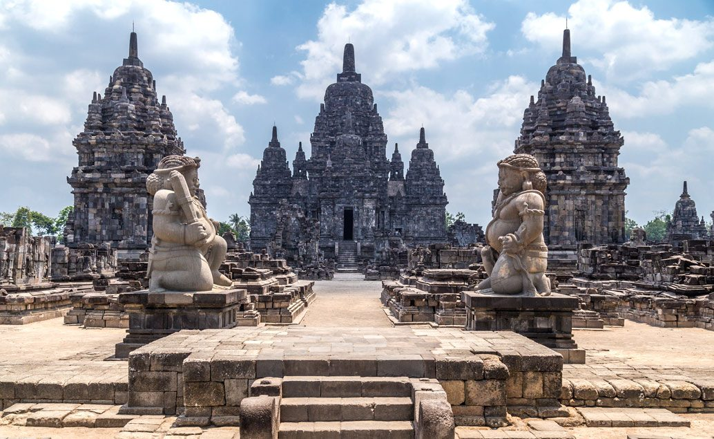 Chrám Borobudur a hinduistické pamiatky