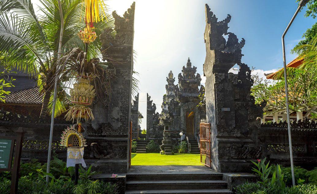 Príroda a chrámy Bali