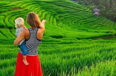 Dobrodružná dovolenka na Bali s deťmi